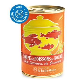 SOUPE DE POISSON DE ROCHE SAVEUR DE PROVENCE