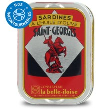 SARDINES ST-GEORGES HUILE OLIVE