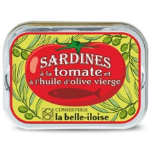 SARDINES HUILE D'OLIVE TOMATE
