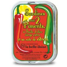 SARDINES AUX 2 PIMENTS et citron