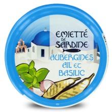 EM. SARDINE AUBERGINES AIL BASIL