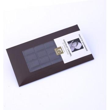 TABLETTE CHOCOLAT NOIR ECLATS  DE CARAMEL