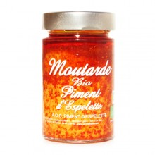 MOUTARDE BIO PIMENT D'ESPELETTE